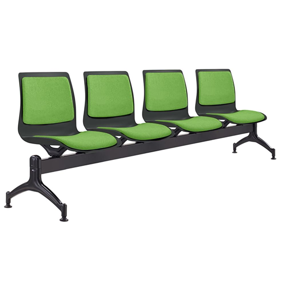 Pod Four Seater Reception Chair