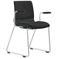 Pod Sled Visitor Chair with Arms