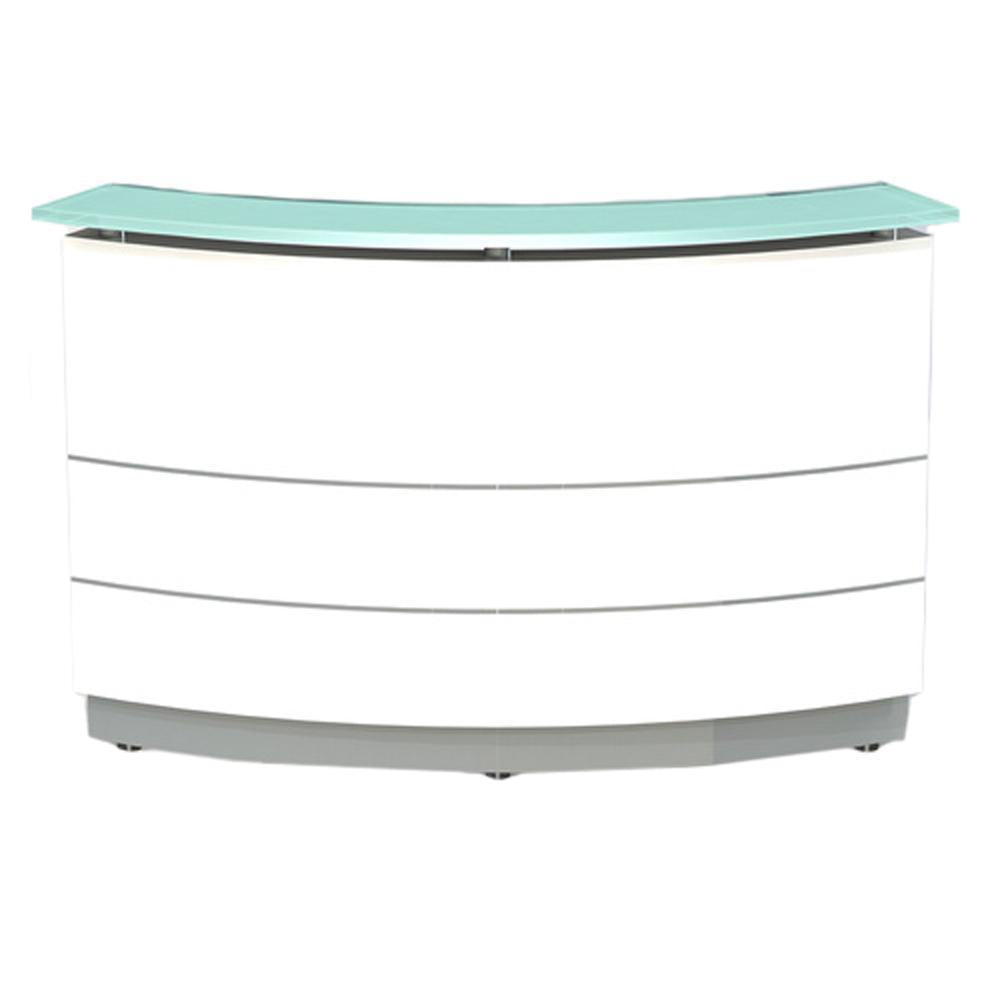 Polaris Curved Reception Counter Desk