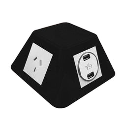 Pyramid On Desk Socket with Wireless Charger