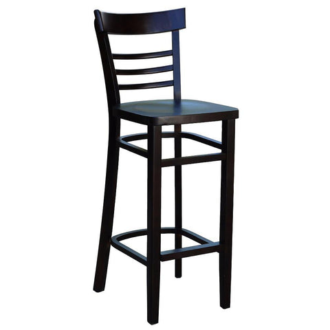 Vienna Barstool with Timber Seat