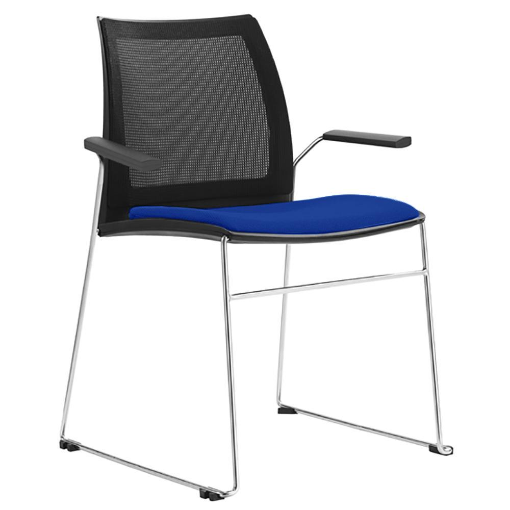 Vinn Mesh Back Visitor Chair with Arms