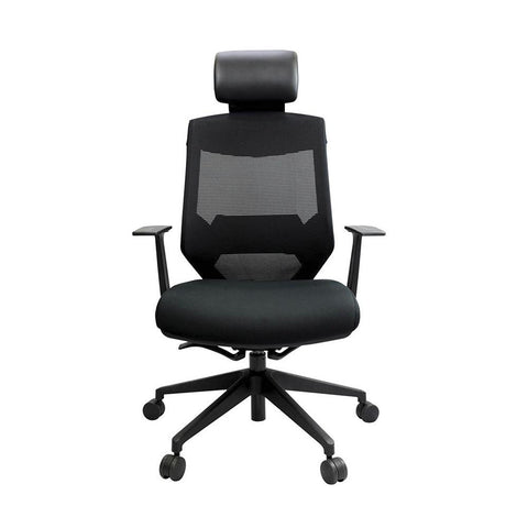 Vogue Aluminium Base High Back Office Chair