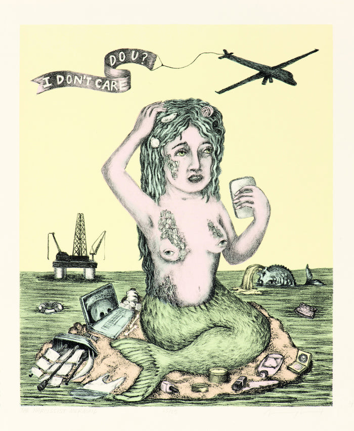The Narcissist Mermaid