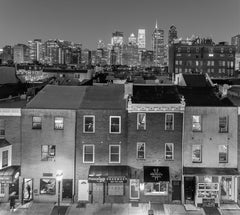 Night View of South Street Facades between 18th and 20th Street, Philadelphia