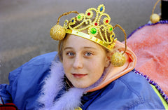 Mummer: Girl in Wagon