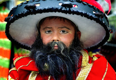 Mummer: Boy with Beard
