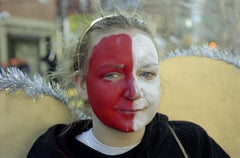 Mummer: Red Faced Girl