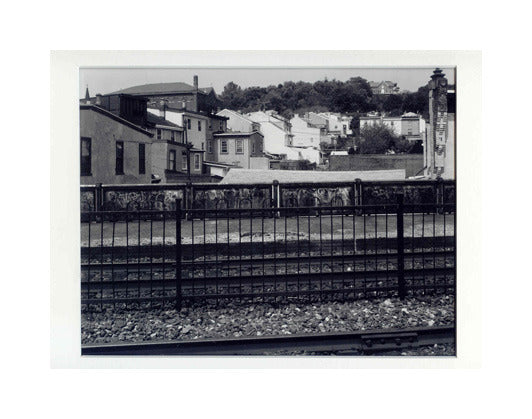 Manayunk Hills Paul Rider Gelatin Silver Print Black and white photography the print center Philadelphia