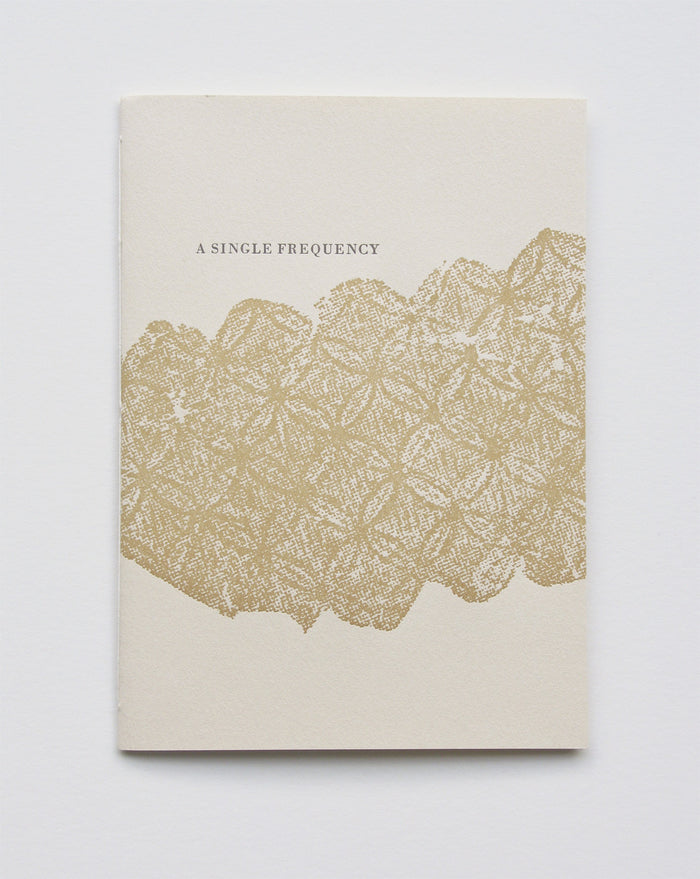 A Single Frequency Marianne Dages The Print Center Poems Egyptian Book of the Dead Google Translate Book Zine