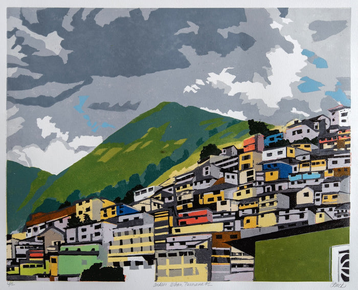Andes: Urban Panorama #2