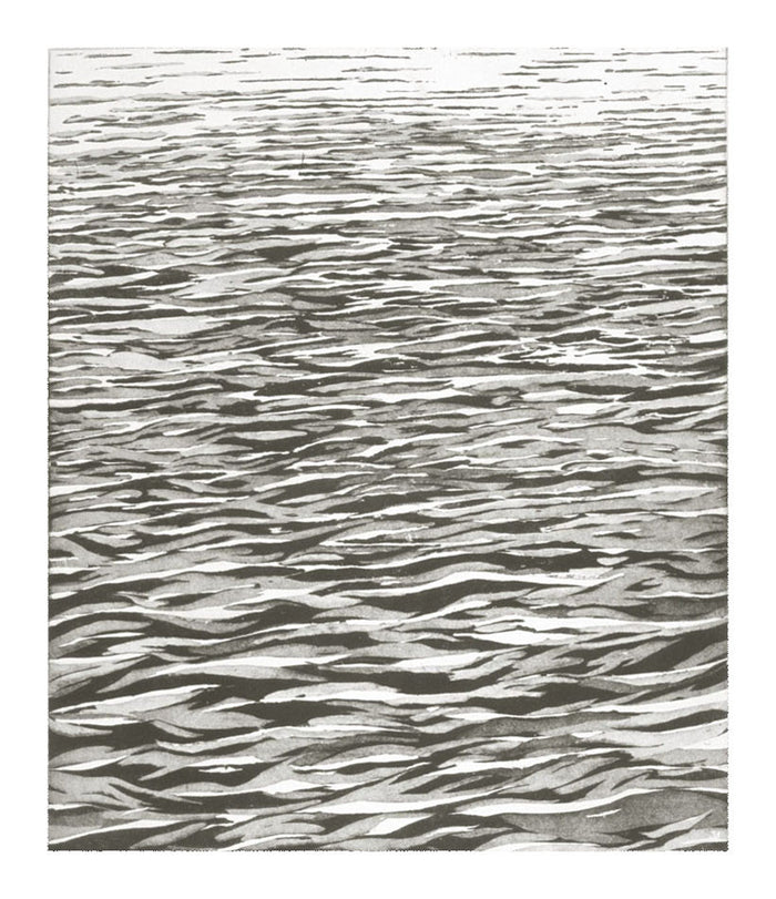 For J.S.B. Emily Brown Etching Water black and white abstraction