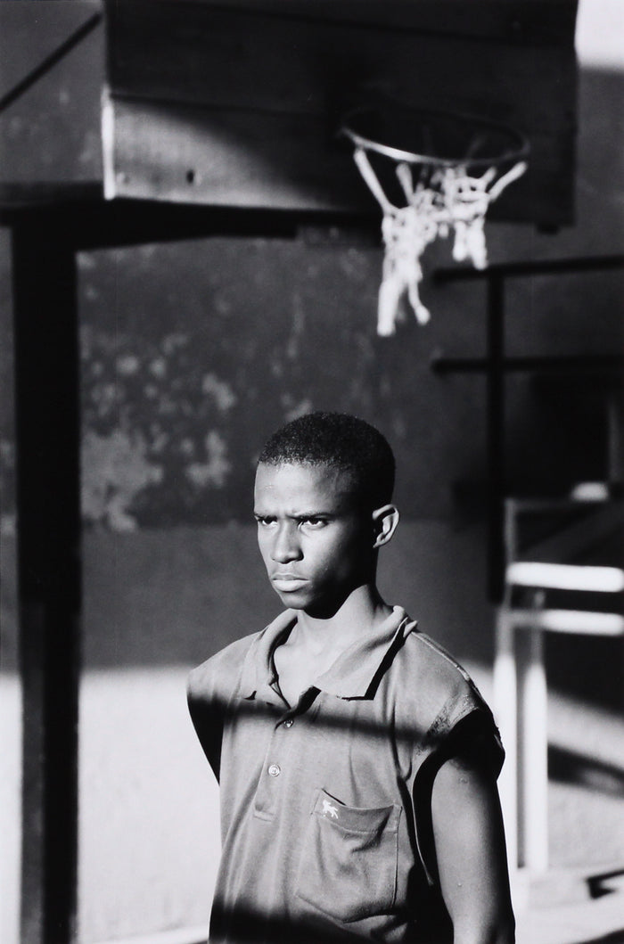 Boy on Basketball Court, Malecón, Havana, Cuba