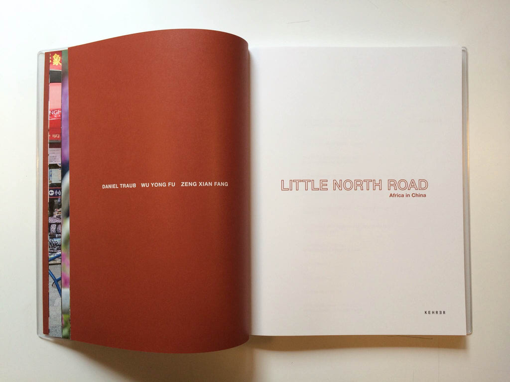 Little North Road artist book photography portraits city community humor Daniel Traub the print center Philadelphia