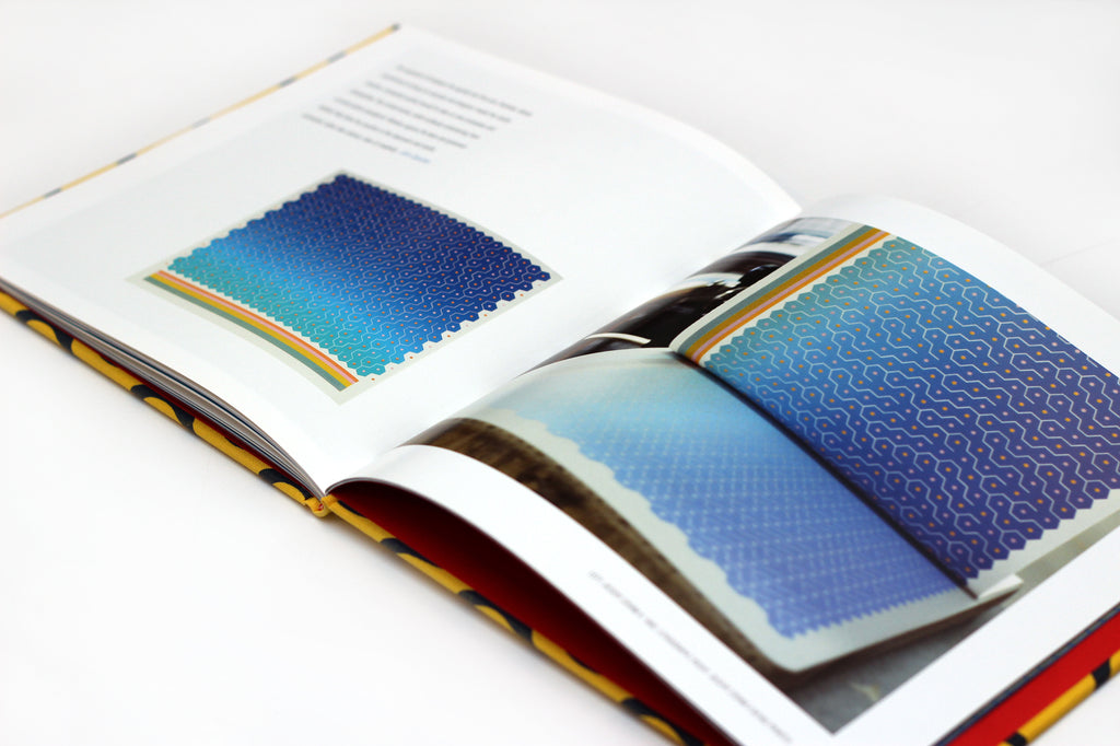 Color Motion: Edna Andrade Prints retrospective the print center book the print center publications