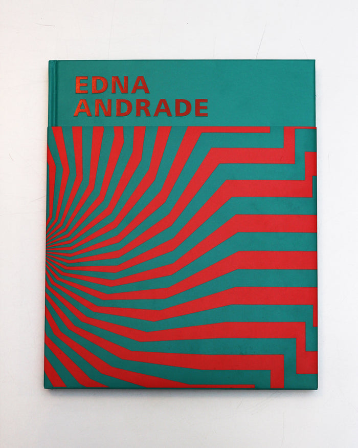 Edna Andrade the print center artist book