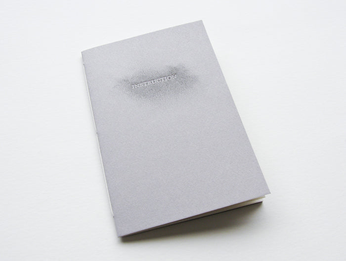 Instruction MArianne Dages the print center text artist book letterpress