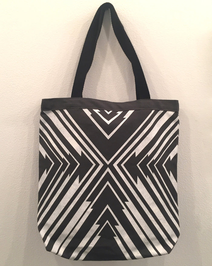 Gray Arrow PKW tote bag wearable gift the print center Kayrock Screenprinting