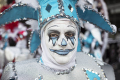 Mummer: Blue Man