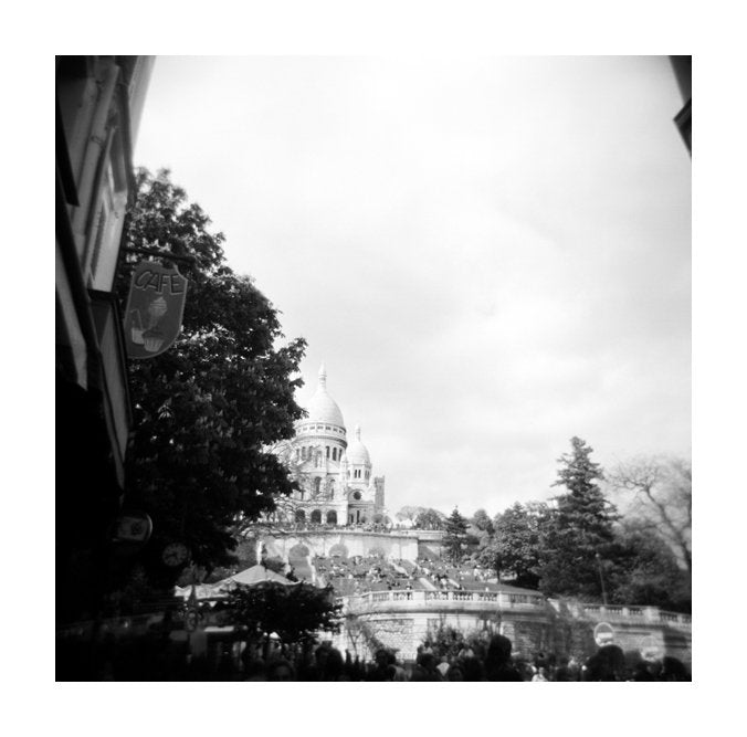 Sacre Coeur Julia Blaukopf the print center carbon pigment print made in Philadelphia