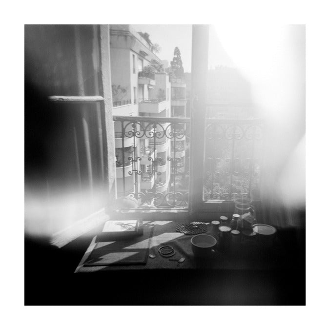 Morning Window overexposed photography black and white photography the print center inkjet print julia blaukopf made in philadelphia