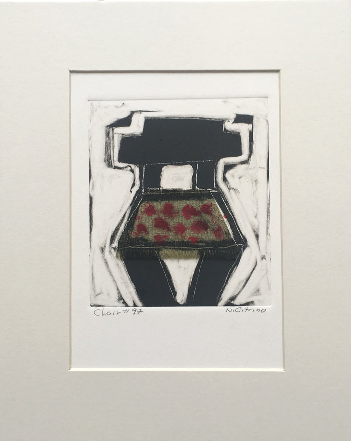 Chair #97 Monotype Nancy Citrino chairs and seats made in Philadelphia The Print Center