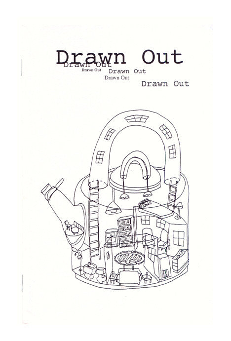 Drawn Out Temporary Services book the print center artist illustrations graffiti line doodles