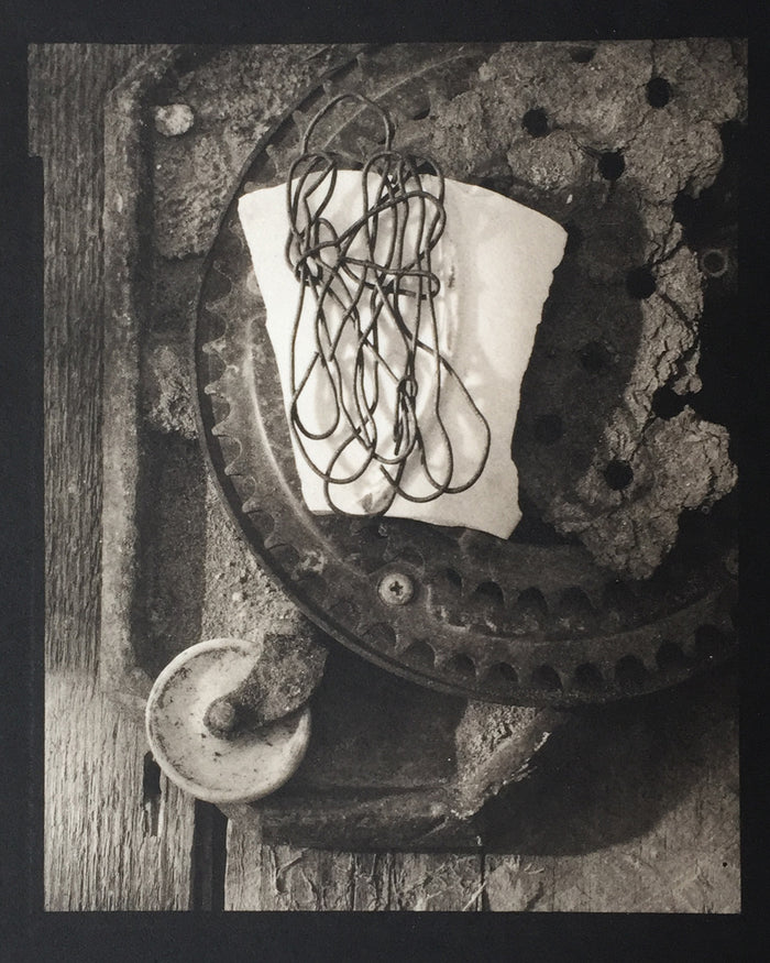 Savannah Still Life objects string metal scraps parts Paul Rider printmaking photography Philadelphia
