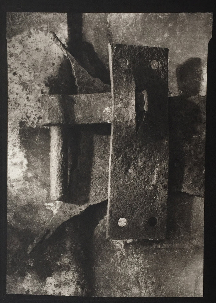 Savannah Still Life metal parts object Paul Rider Platinum Palladium Print