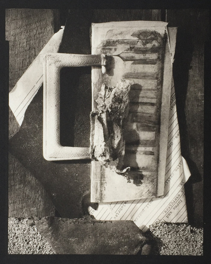 Savannah Still Life Paul Rider printmaking made in Philadelphia line and form black and white