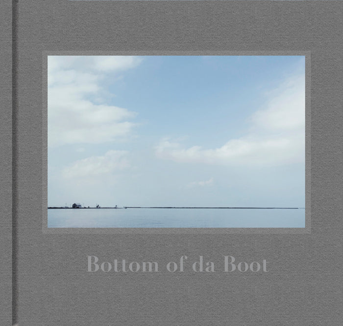 Bottom of Da Boot Kae; Alford Book disappearing communities of Isle de Jean Charles and Pointe-aux-Chenes Portraiture and Landscapes people Louisiana The Print Center Photography