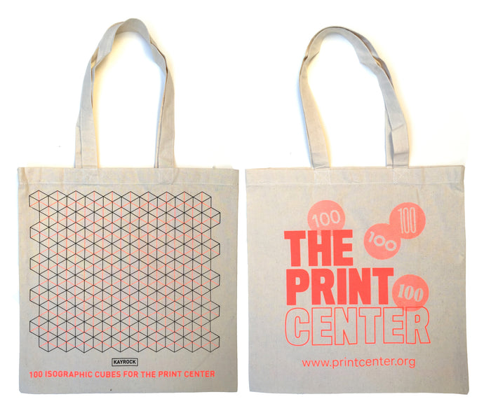 Centennial Tote Bag The Print Center Apparel Wearable gifts Philadelphia