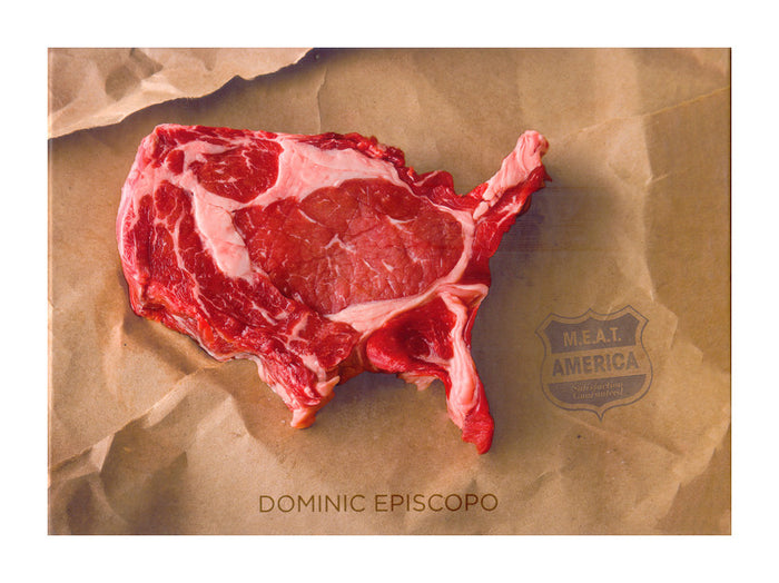 Meat America Dominic Episcopo book the print center meat sculptures made in Philadelphia photography