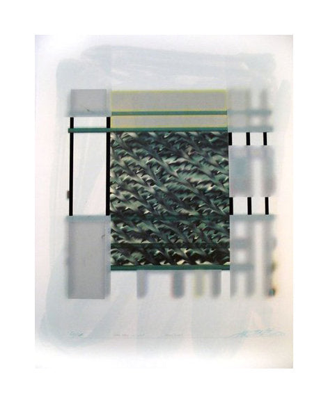 Misty Dutch 11 Silkscreen Hideki Kimura out of focus color based abstraction the print center Philadelphia