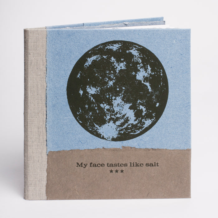 My Face Tastes Like Salt Frank Hamrick the print center philadelphia photography handmade book paper diy black and white photos