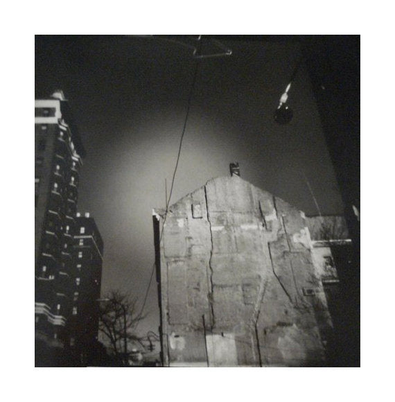 Philly, 12th and Spruce Gelatin Silver Print Julia Blaukopf the print center made in Philadelphia nighttime city landscape