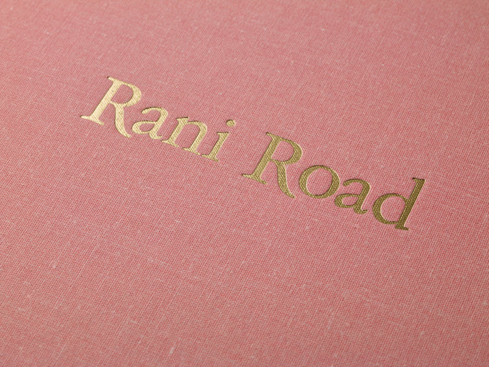 Rani Road Book photography vacation scenes flowers sand tropic pink Saleem Ahmed