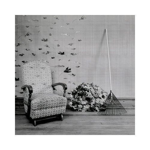 Rocker Keith Sharp Gelatin Silver Print the print center chair rake leaves living room