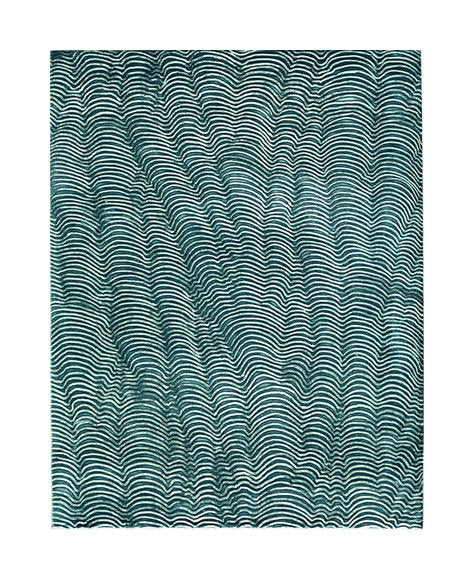 Roots patterned janet towbin etching color based abstraction blue the print center