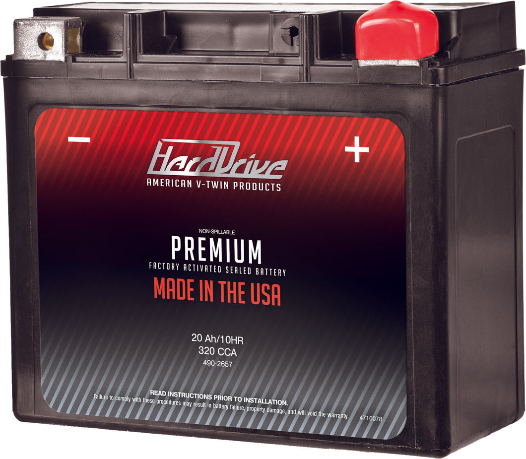 PREMIUM BATTERY GYZ/ - Used-Harley-Davidson-Parts