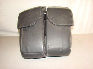 Harley Davidson Hard Leather Saddlebags - Used-Harley-Davidson-Parts