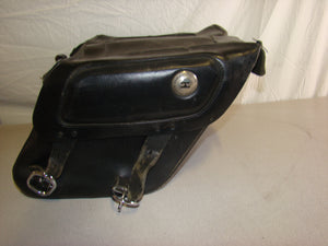 Small Harley-Davidson Leather Saddlebags - Used-Harley-Davidson-Parts