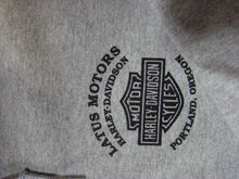 Latus Motors Sweater w/ Zipper- Gray (4XL) - Used-Harley-Davidson-Parts