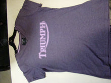Ladies Triumph Graphic Tee- Size 2L - Used-Harley-Davidson-Parts