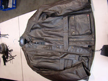 Men's Brown Triumph Jacket- L - Used-Harley-Davidson-Parts