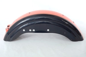 Harley-Davidson Sportster Rear Fender Orange/Deep Blue For 94-96 XL1200/883 - Used-Harley-Davidson-Parts