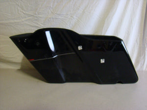 Used Harley-Davidson Right Saddlebag- Touring- Black with Red and Silver
