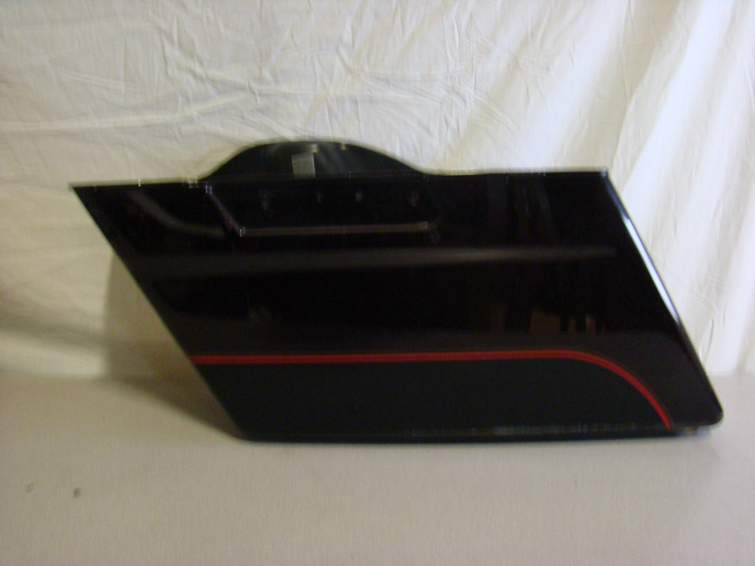 Used Harley-Davidson Touring Left Saddlebag - Deep Metallic Red