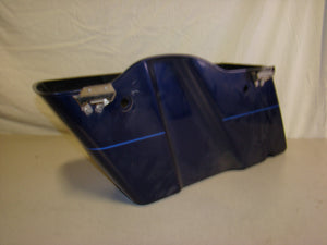 Used Harley-Davidson Saddlebag - Right - Blue