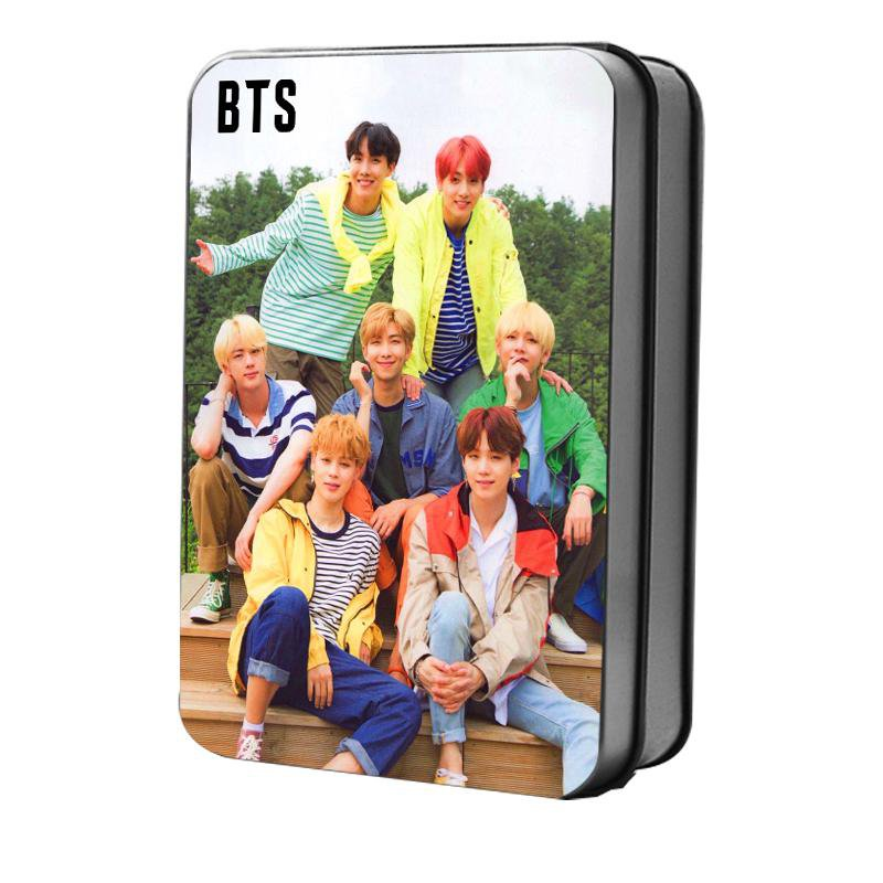 BTS All Members Collective PVC Polaroid LOMO Card 30pcs/set
